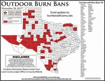 Area Counties Enact Burn Bans News Heraldbanner Com