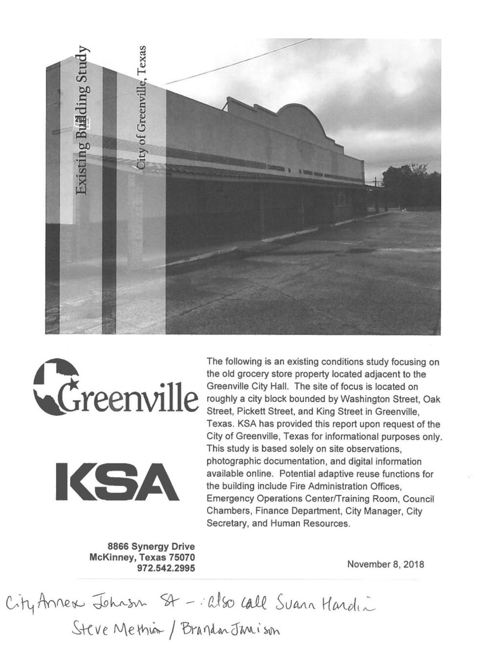Greenville council considering $3 5M+ project to buy old