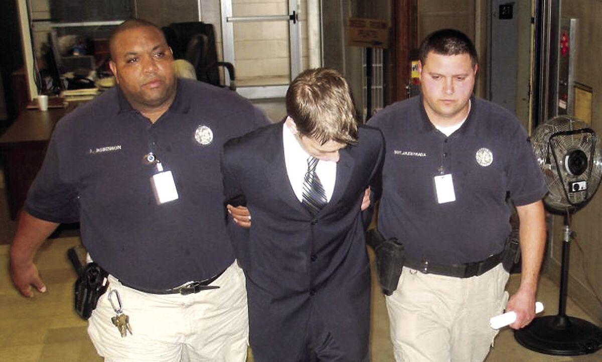 After sentencing in 2009