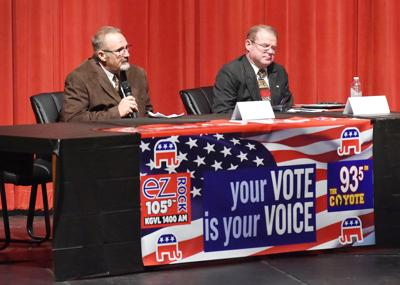 County sheriff candidates