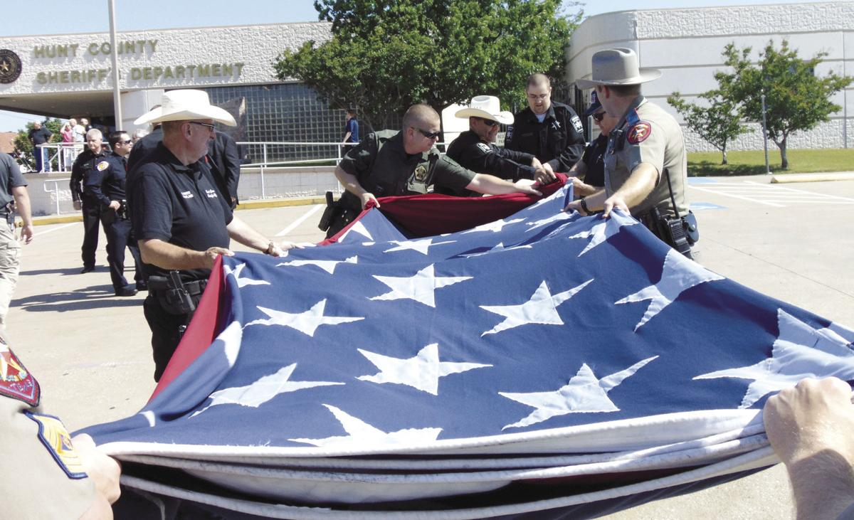 Refolding the flag