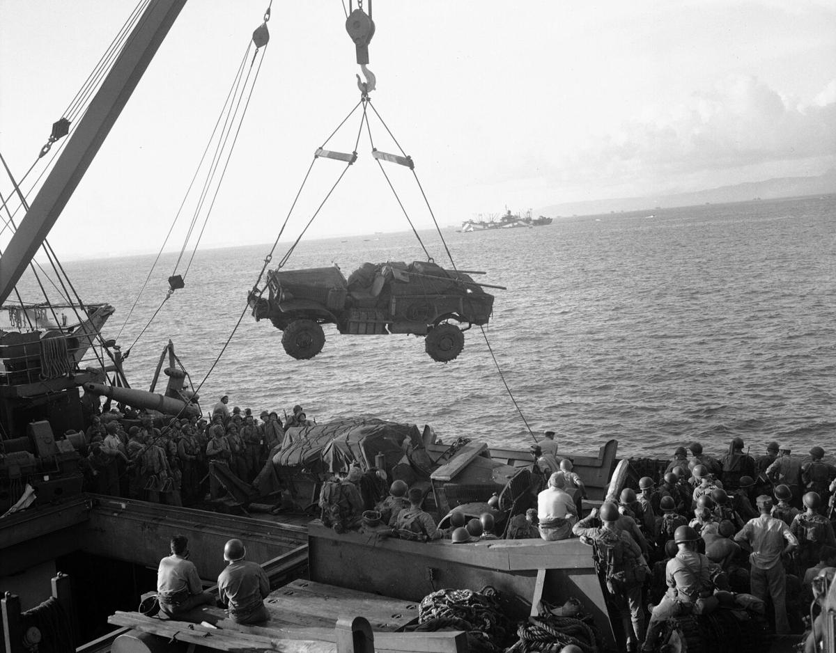 WWII US Troops Guam