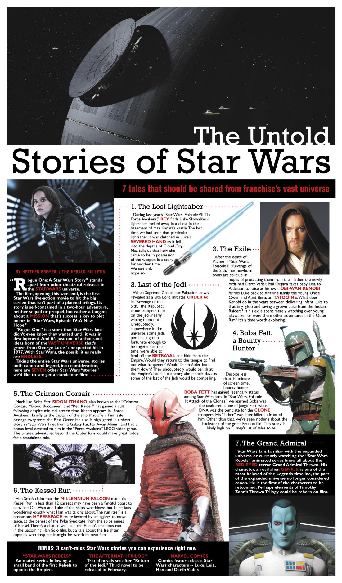 The Untold Stories of Star Wars | Entertainment | heraldbulletin.com