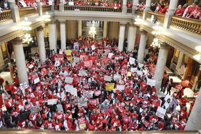 Indiana teachers rally for pay boosts (copy)