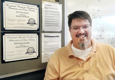 Calculus teacher makes presidential award finals for record fourth time