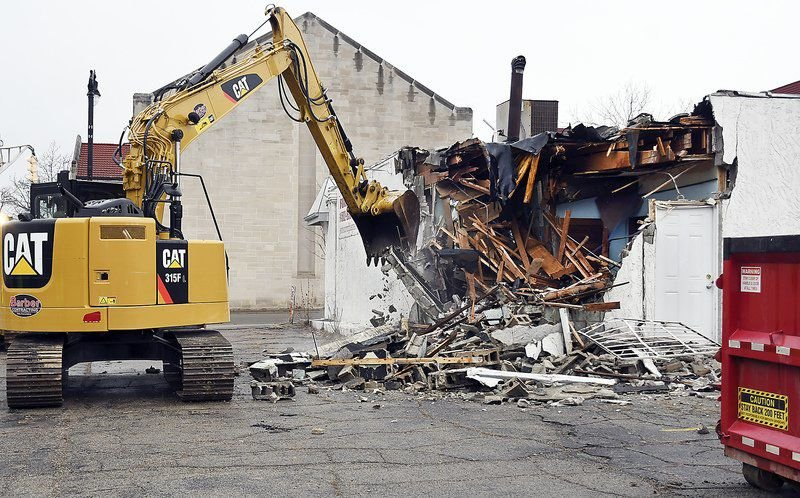 Demolition work starts for new bus terminal