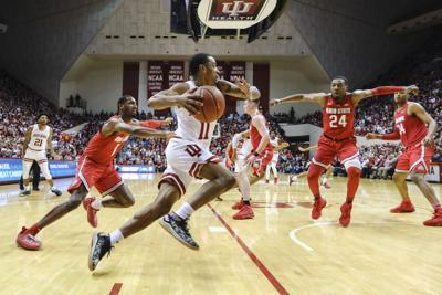 APTOPIX Ohio St Indiana Basketball