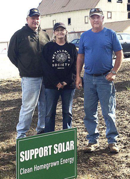 Landowners regard leases for solar farm a business decision