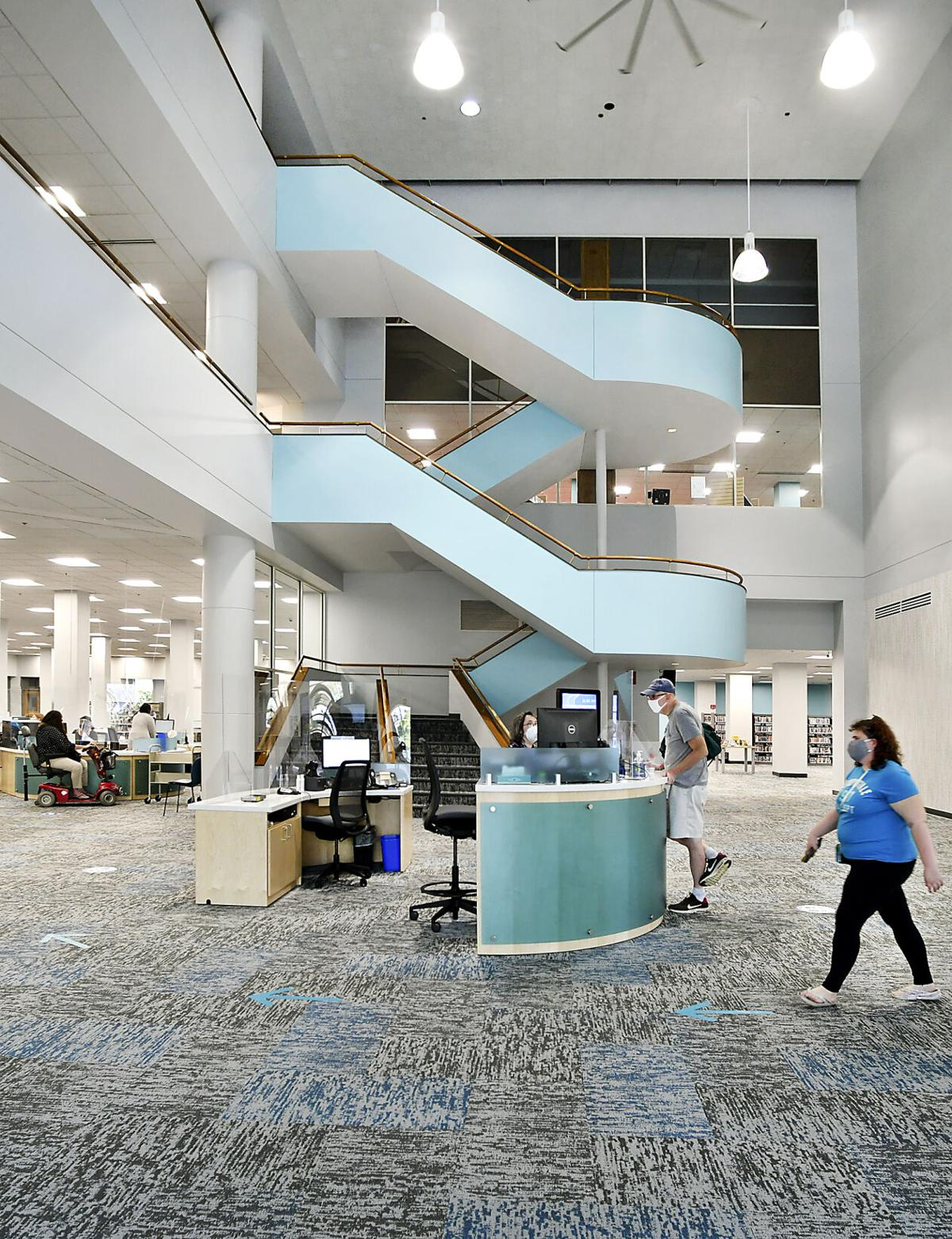 New look at Anderson library awaiting a public unwrapping