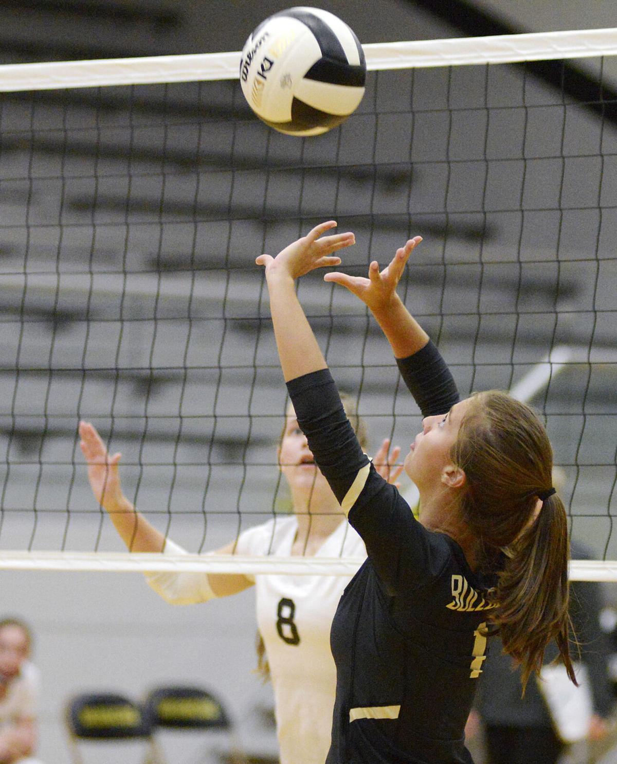 Daleville v Lapel volleyball