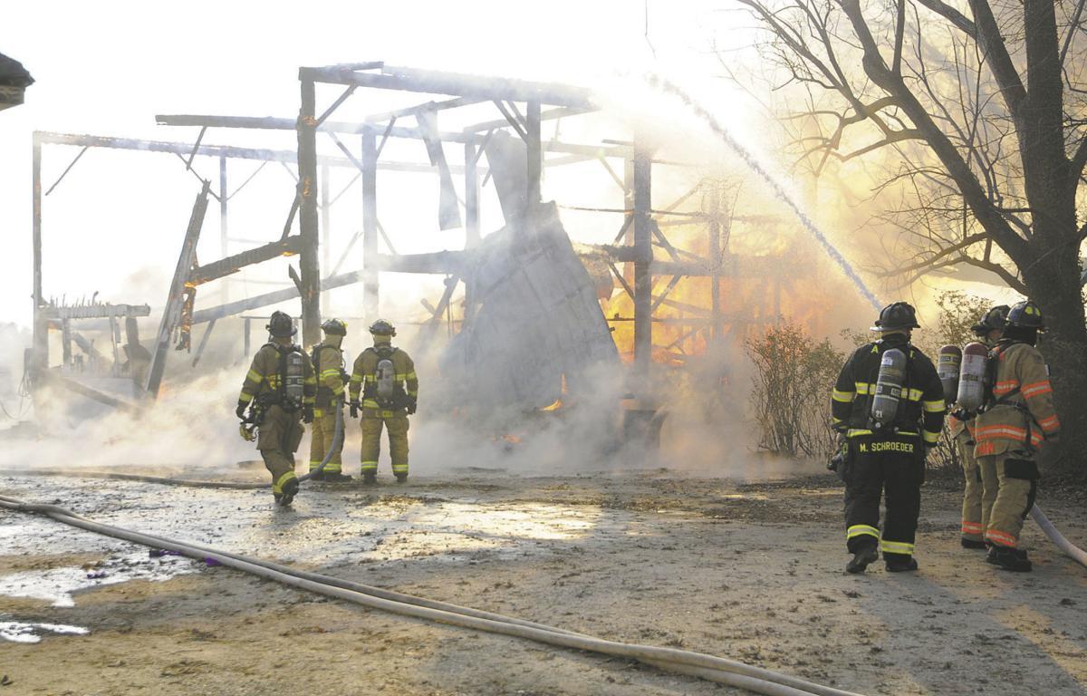 Fire destroys 120-year-old barn | Local News ...