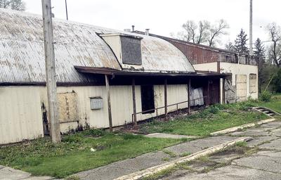 Building to be demolished