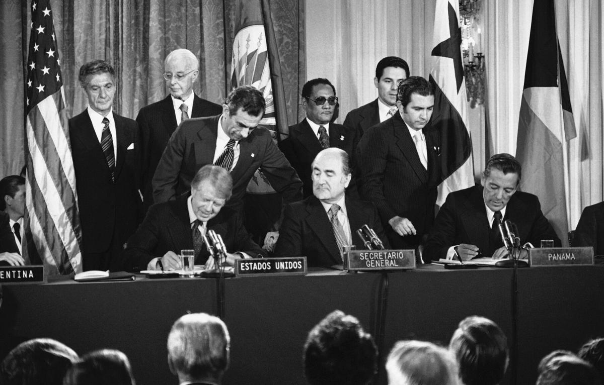 Jimmy Carter, Alejandro Orfila, Omar Torrijos
