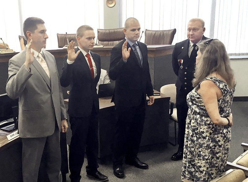 Anderson hires three new firefighters