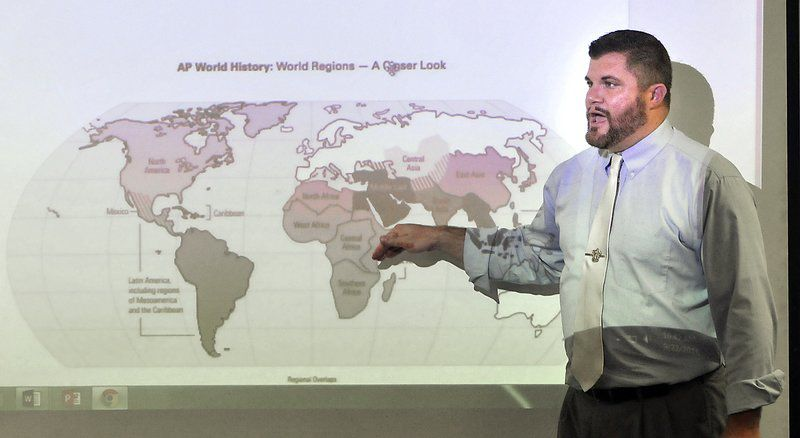 world regions map ap world history