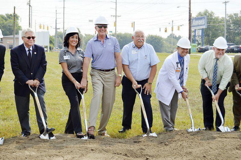 Community Hospital breaks ground for pavilion