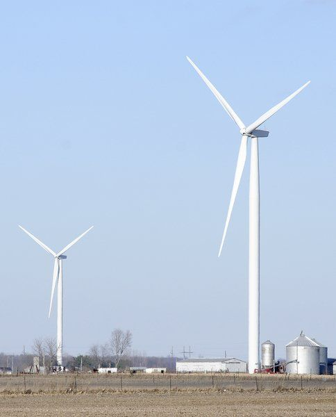 There's $1.2M waiting to be distributed from wind turbines