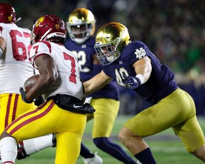 ND FOOTBALL POSITION BREAKDOWNS: Linebackers look to build off strong 2019 season
