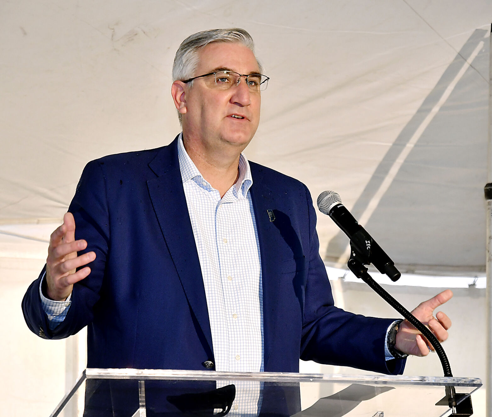 Holcomb: State prepared to deal with pandemic surge