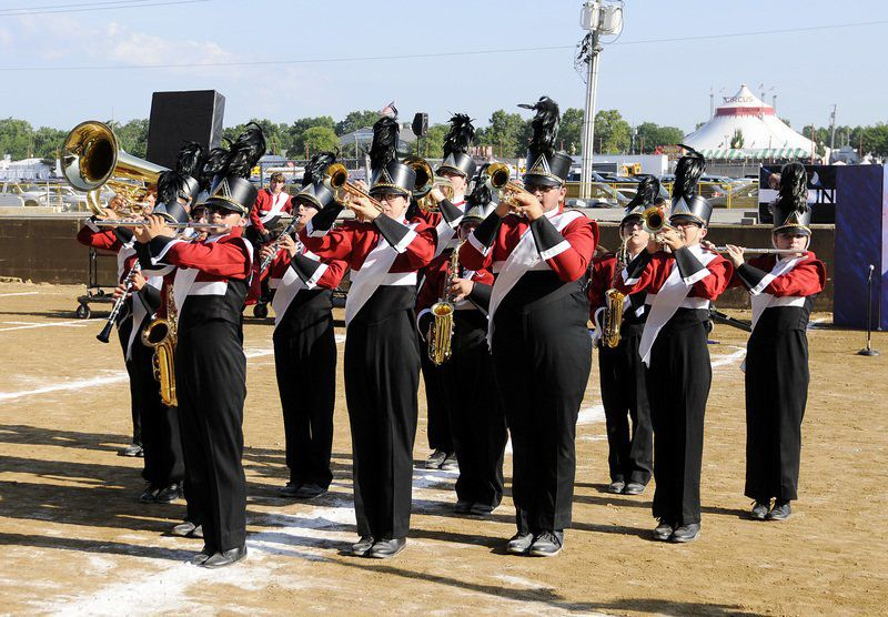 Fledgling Frankton Marching Eagles spread their wings