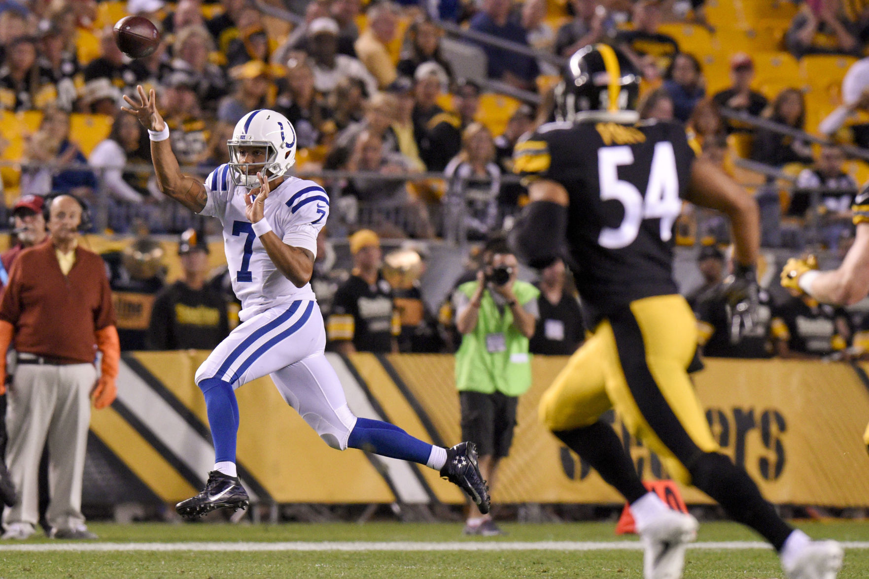 Colts top Steelers for first preseason win