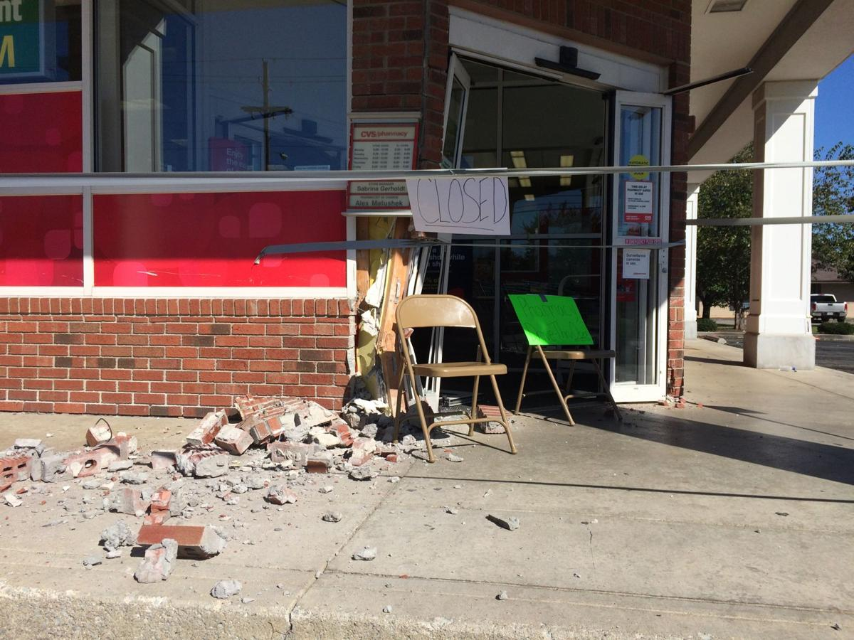car crash closes cvs for repairs news