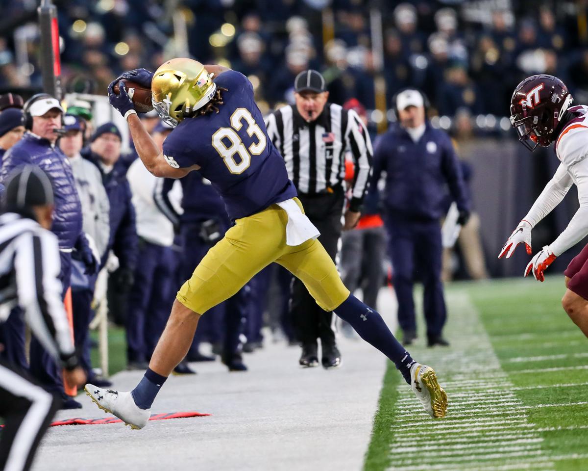 Virginia Tech vs Notre Dame Football