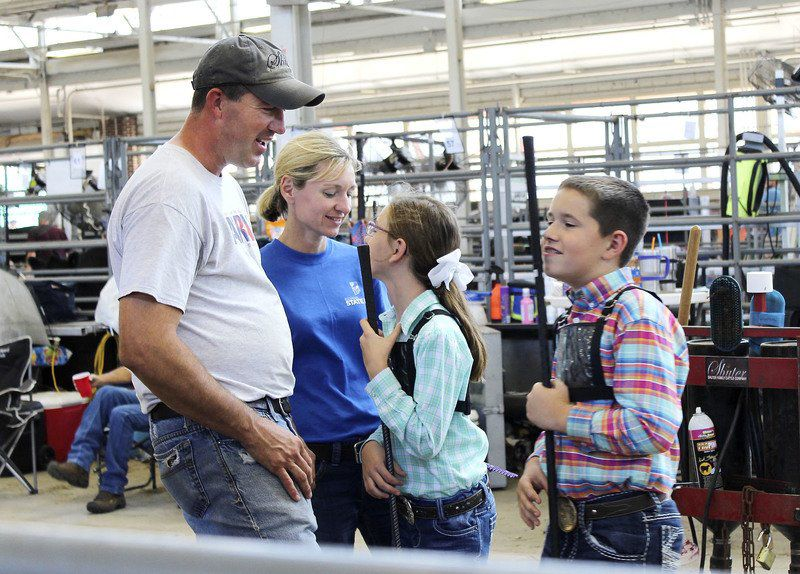Family theme resonates for local participants in state fair beef show