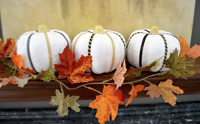 White is the new orange in pumpkin decorating life