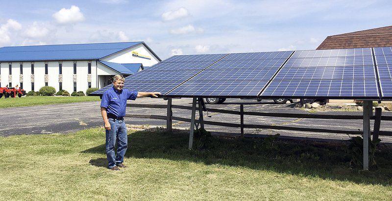 Ruoff Solar hoosier inventor speaks up for solar state heraldbulletin com