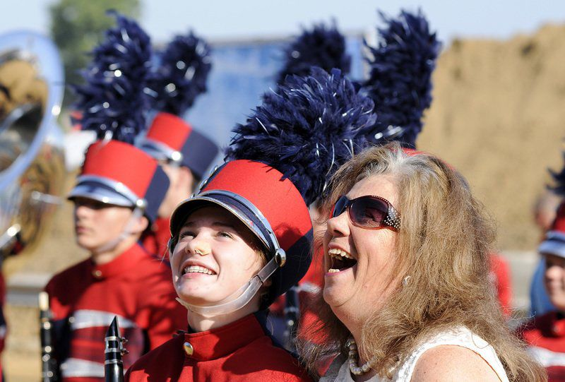 Panthers march through grief in Band Day performance