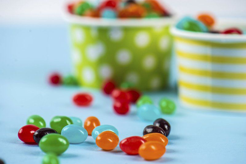 Jelly bean cookies and other sweet treats