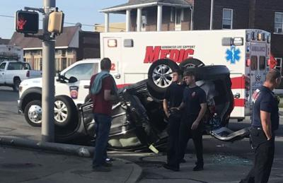 Two-car accident halts traffic at 13th and Main | News
