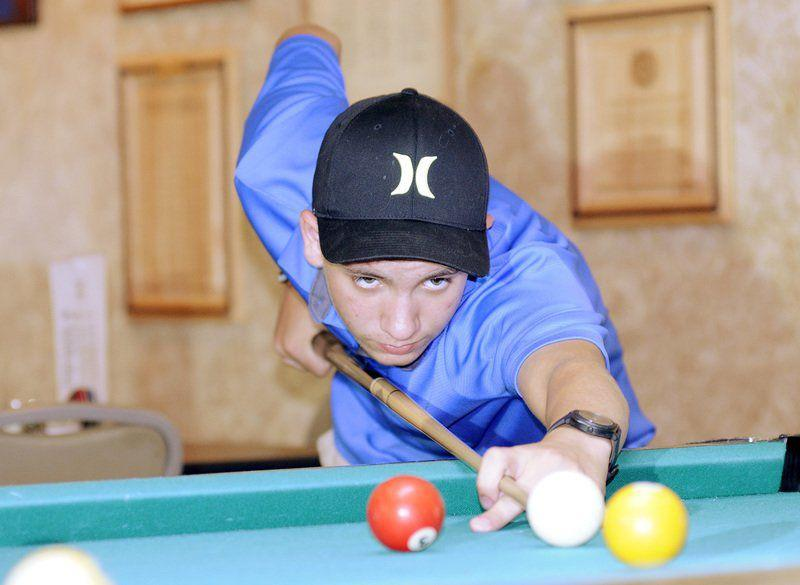 Daleville Billiards Player Makes His Mark Early Mad Life Heraldbulletin Com - How To Mark Out A Pool Table