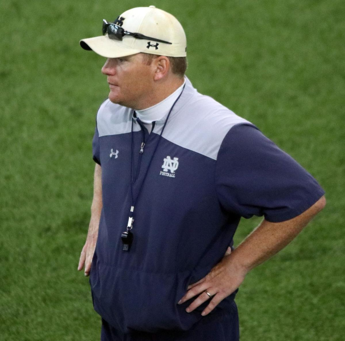 NOTRE DAME FOOTBALL Long reflects fondly on Louisville job 2