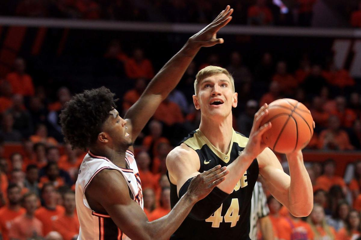 Boilers' Haas to miss rest of NCAA Tournament | Purdue University Sports | heraldbulletin.com