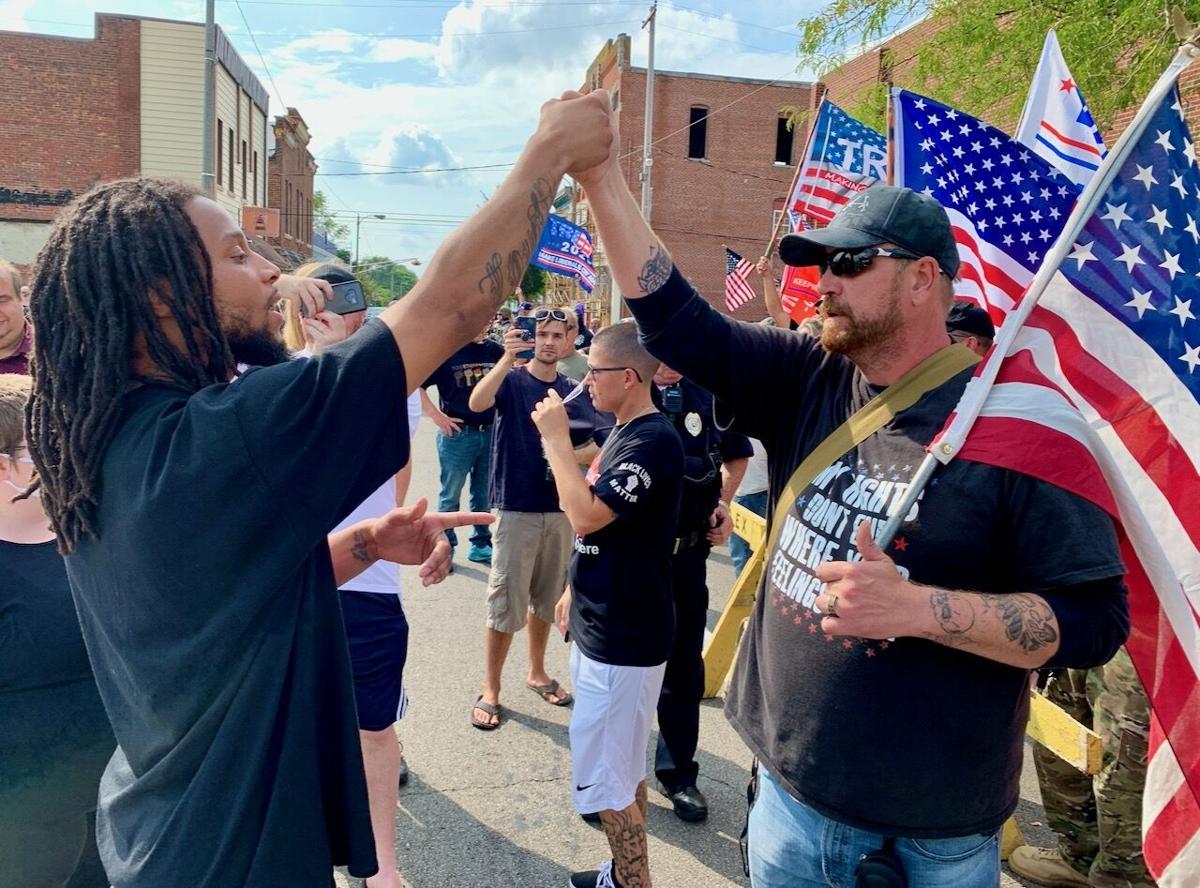 Alexandria protest
