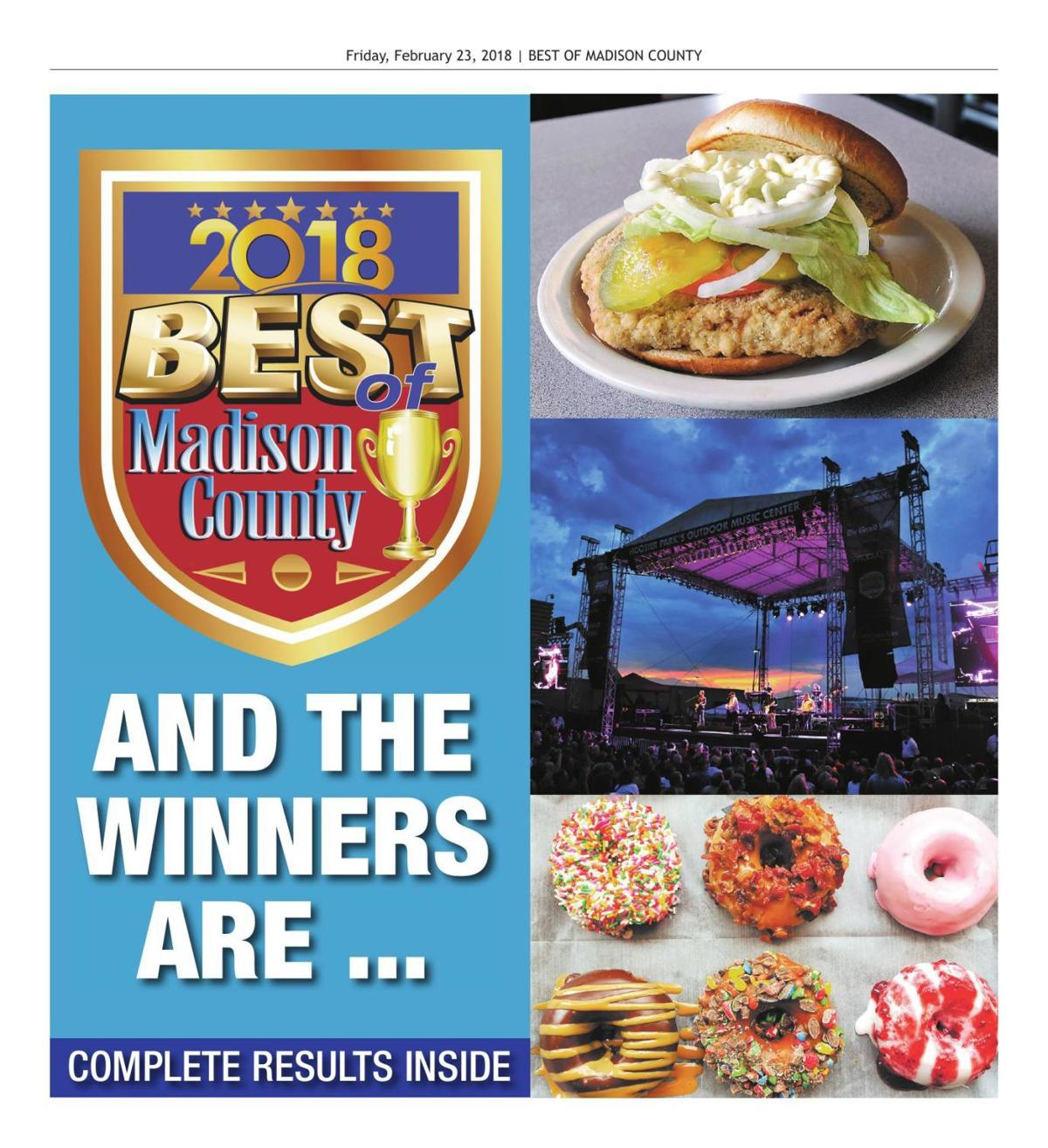 BEST OF MADISON COUNTY: And the winners are ...