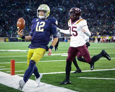 ND FOOTBALL POSITION BREAKDOWNS: QB Book the starter, but questions remain behind him