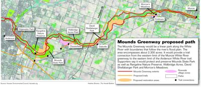 GRAPHIC: Proposed Mounds Greenway
