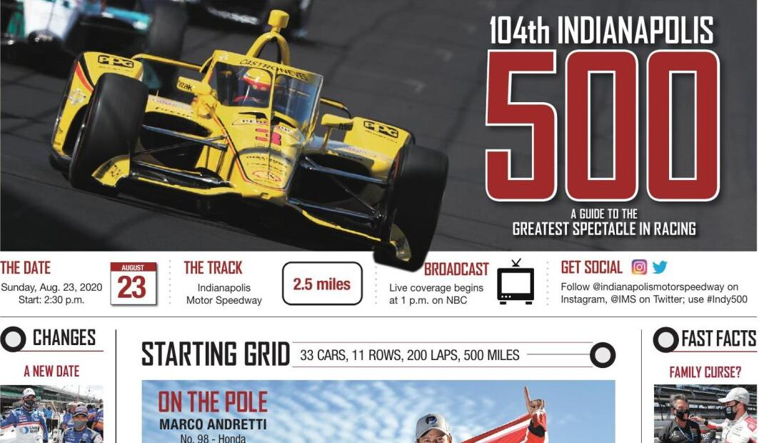 GRAPHIC: 104th Indianapolis 500
