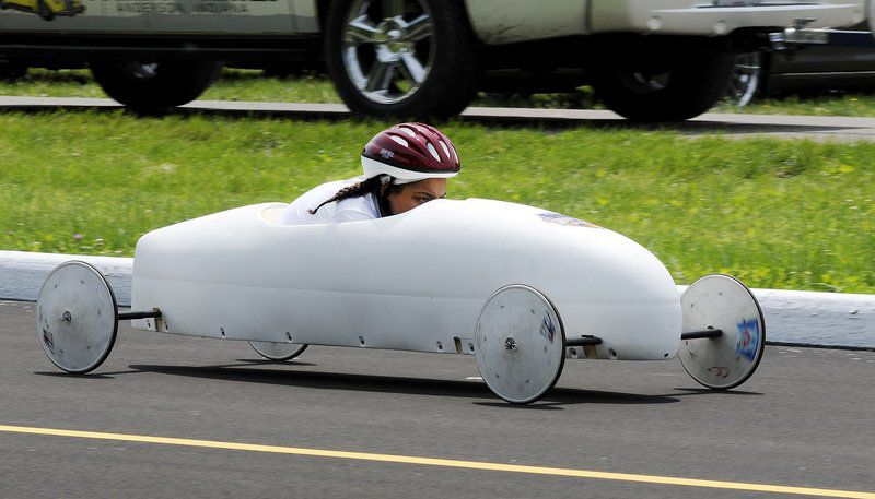Soap box derby sister act