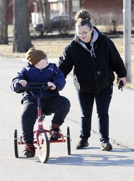 Anderson boy with brain disorder overcomes odds with help of community