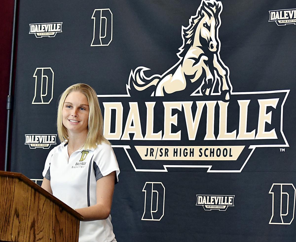 Daleville coach Ashley Fouch