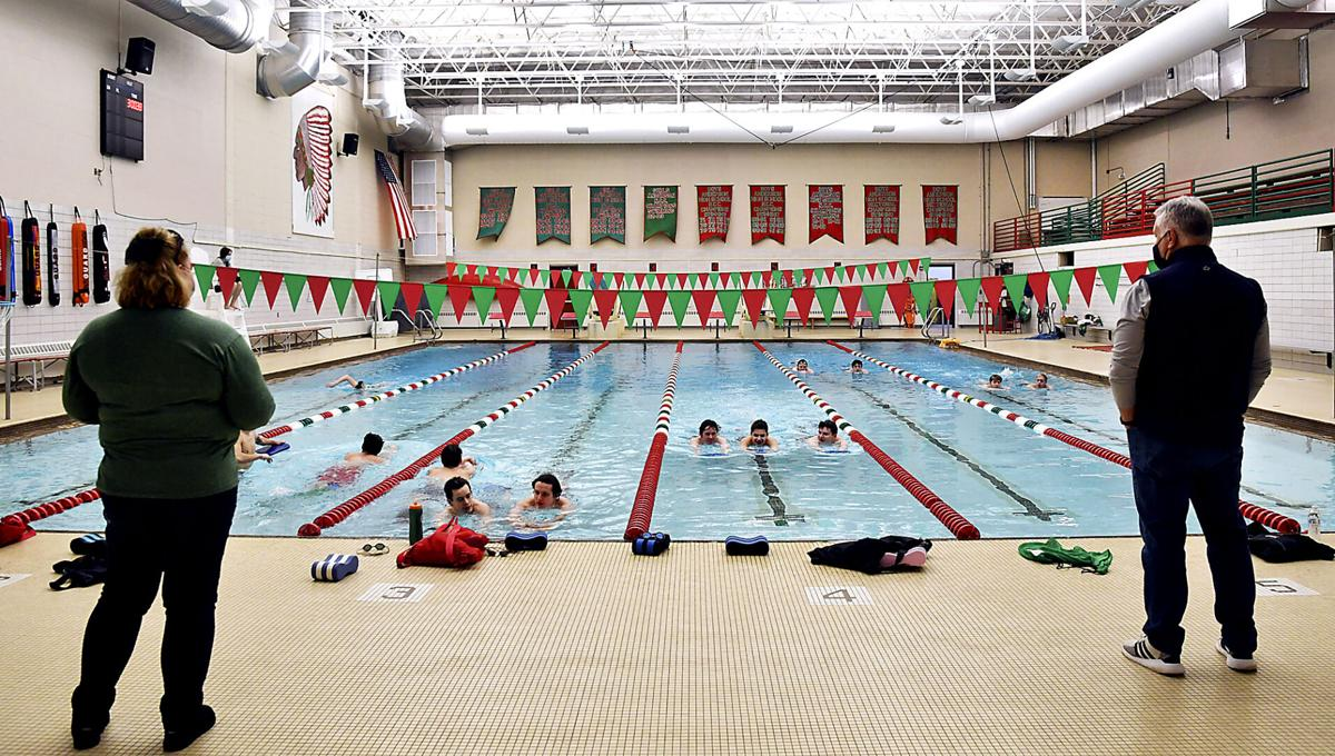 Anderson High School pool project