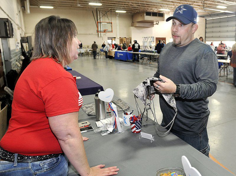 Vets get help starting over at Stand Down