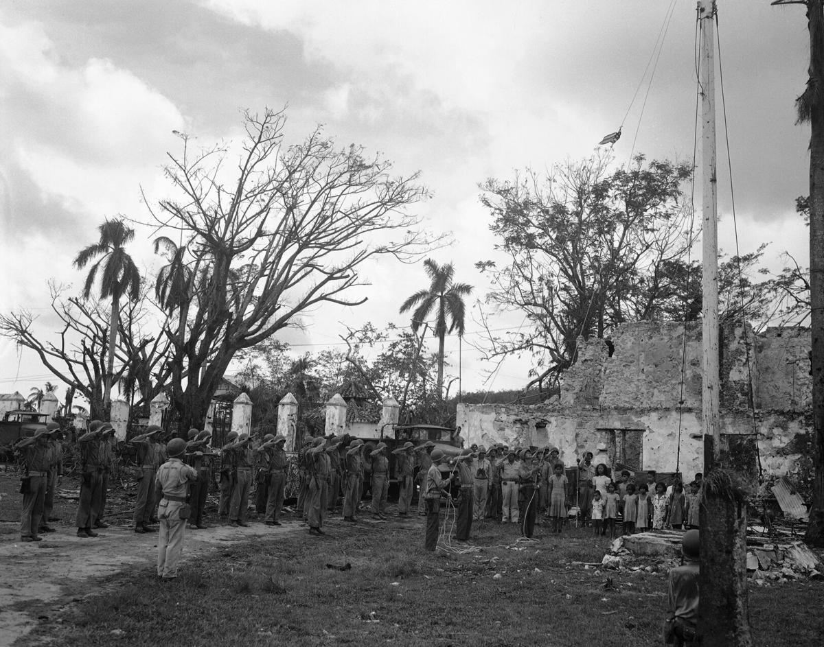 WWII U.S. Guam People