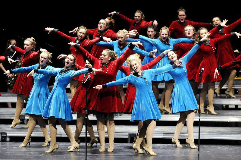 Pendleton Heights show choirs make history