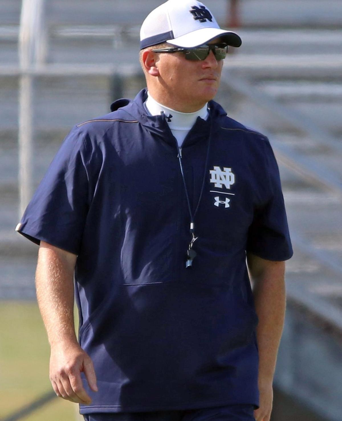 NOTRE DAME FOOTBALL Long reflects fondly on Louisville job 1