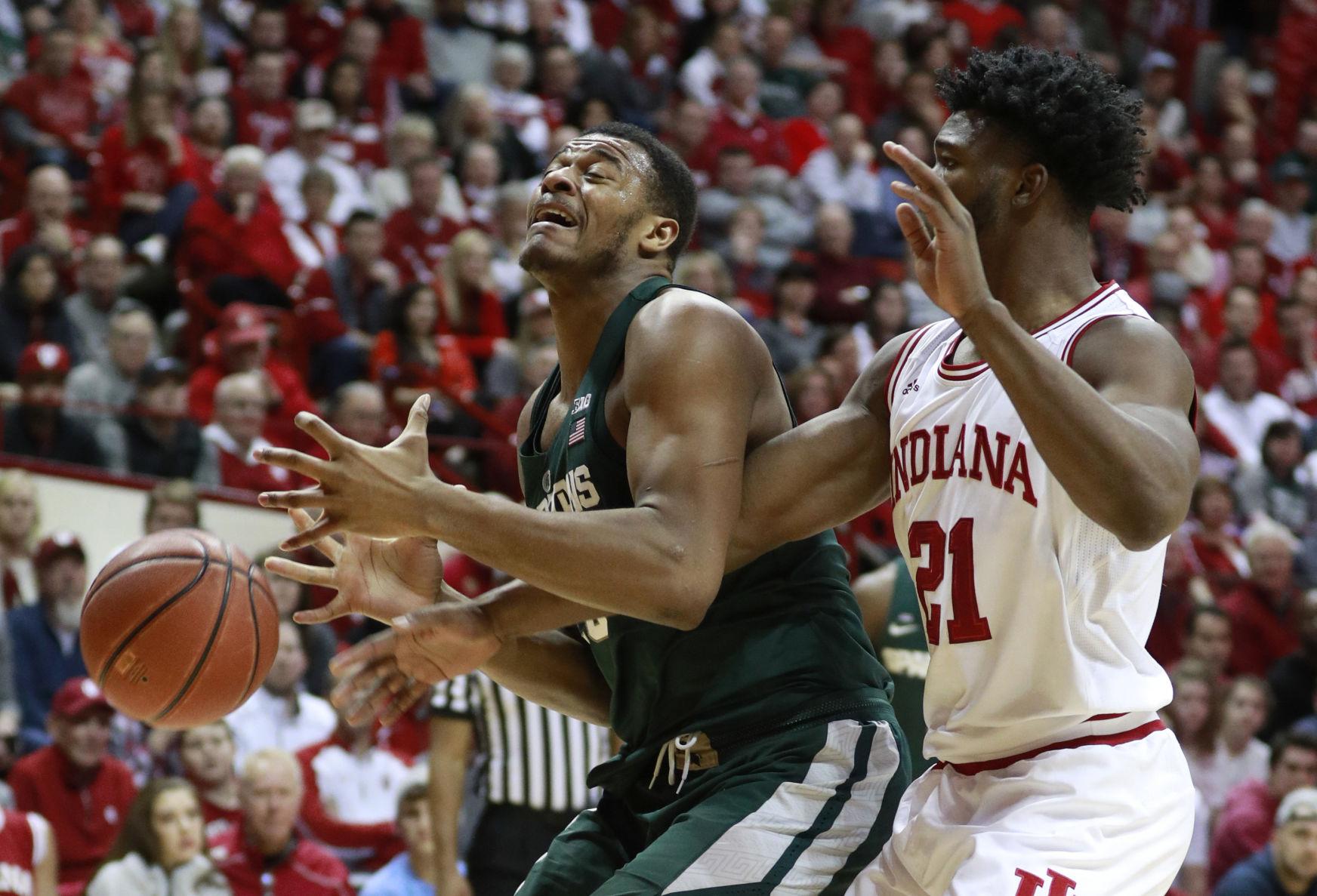 Ben Carter Michigan State Spartans Basketball Jersey - Green